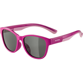 Alpina Flexxy Cool Kids II Occhiali Bambino, Pink/Rose/black mirror